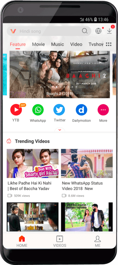 VidMate - Download VidMate apk and VidMate App for Android